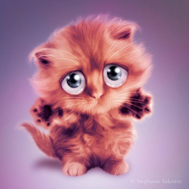 Hug Me Kitty By StephanieVALENTIN.deviantart.com On