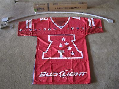 Bud light nfl all #teams #satin flag banner beer sign football #jersey afc nfc 11,  View more on the LINK: http://www.zeppy.io/product/gb/2/200963431173/