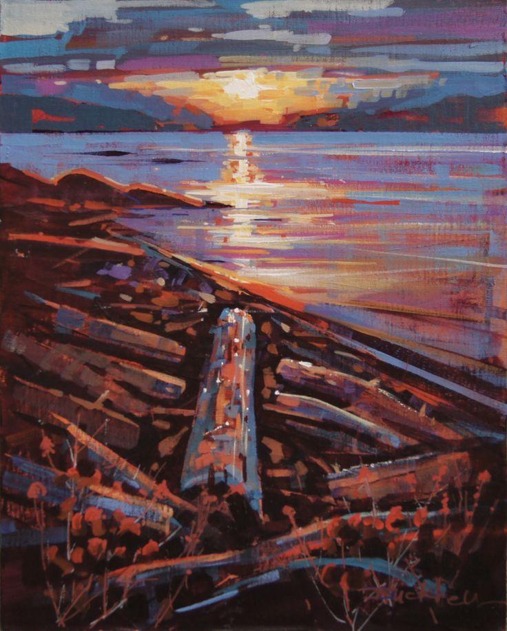 Island Evening Acrylic 14x18