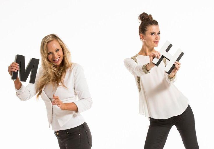 Model hideout girls doing an advertising shoot