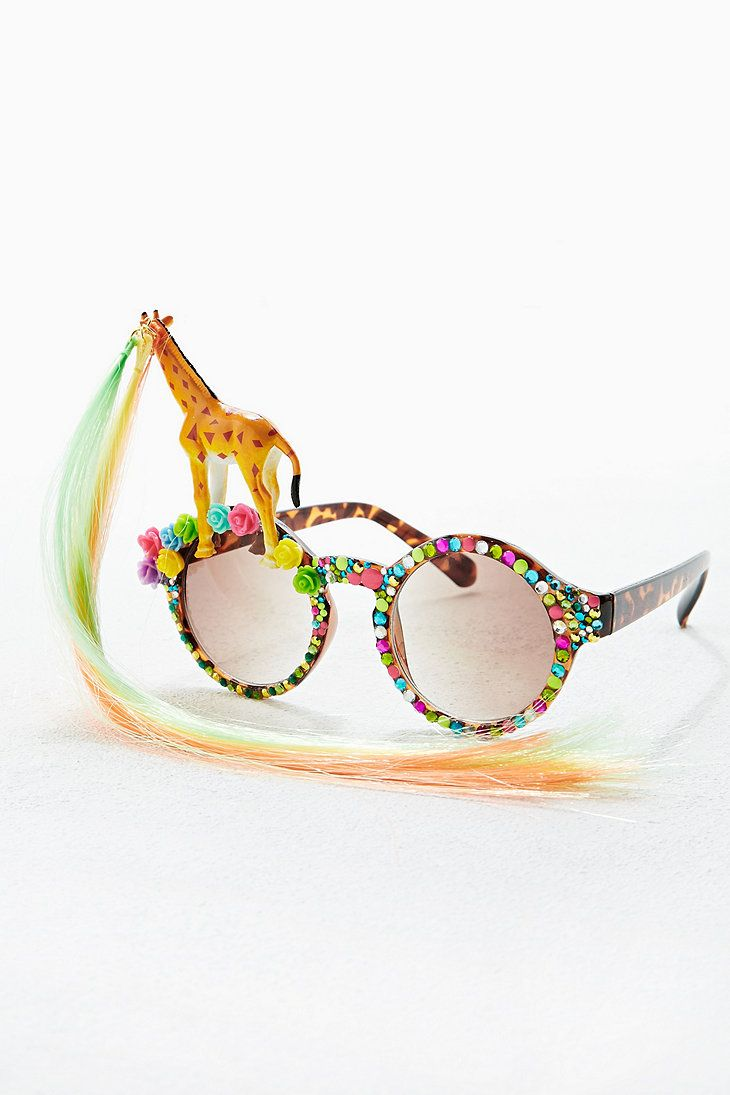 Spangled Giraffe Sunglasses - Urban Outfitters