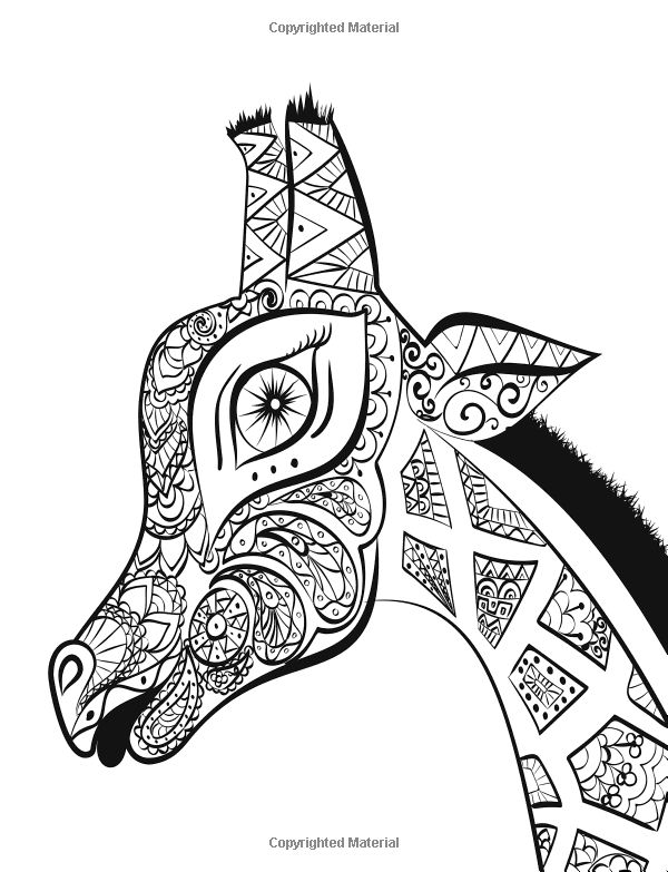 design coloring pages of animals - photo#16