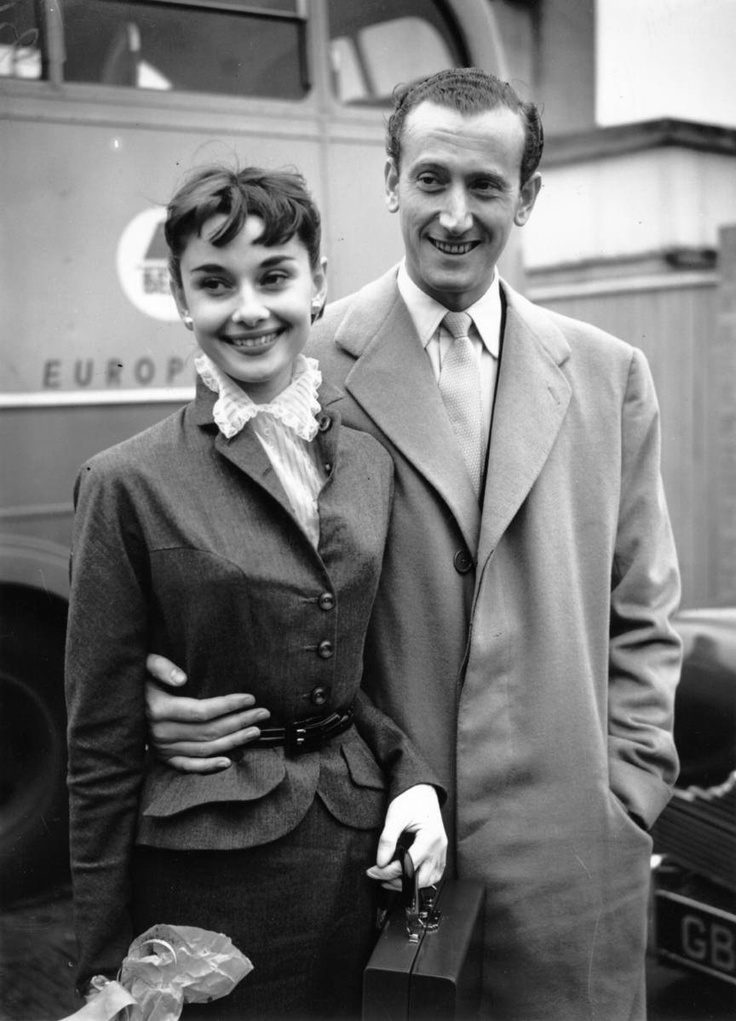 September 1952 - with James Hanson at Northolt Airport in London, England.