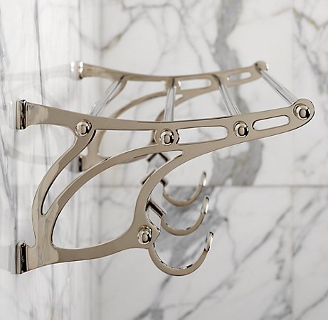 Towel Shelf From Restoration Hardware 169 Tiny Bathroom Reno Pinterest