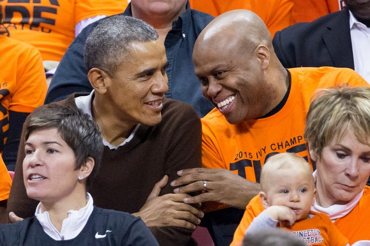 Barack Obama and Craig Robinson