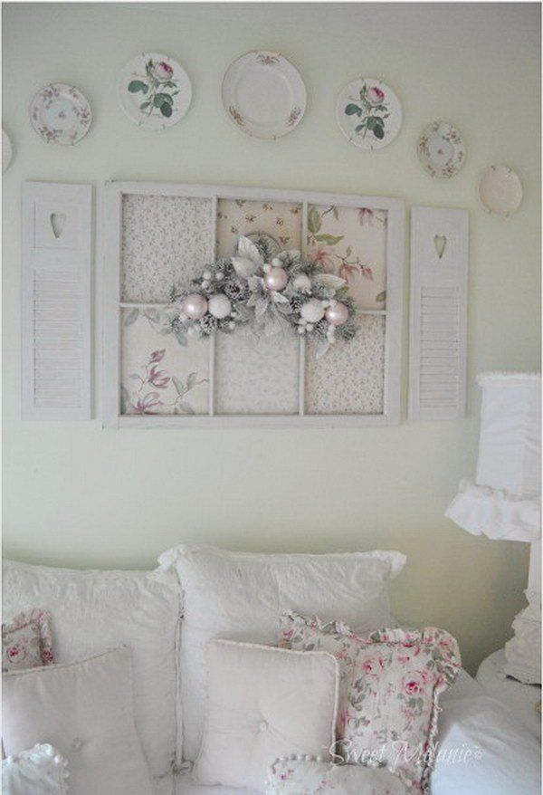 Shabby Chic 50 Ideas To See The Features And How To Decorate With Style My Desired Home Shabby Chic Wall Decor Shabby Chic Wall Art Shabby Chic Room