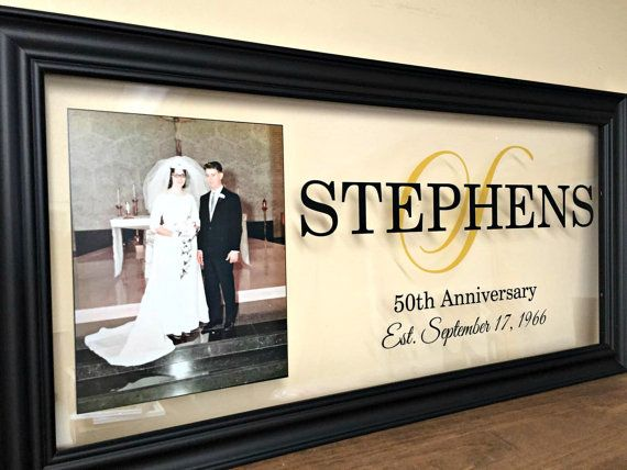 Gift For 50th Wedding Anniversary Ideas: 1000+ Ideas About 50th Anniversary Gifts On Pinterest