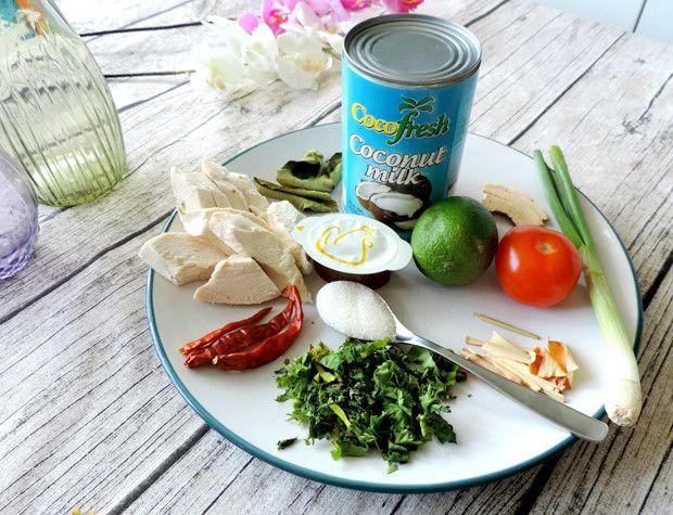 Your Next Healthy Microwave Meal A Coconut Ty Thai Tom Ka Gai