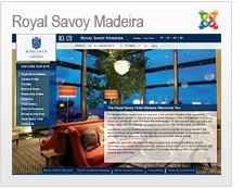 The Madeira Royal Savoy Hotel is a luxurious 5 star property situated on the oceanfront overlooking the harbour of Funchal. http://www.hotelroyalsavoymadeira.com/en/