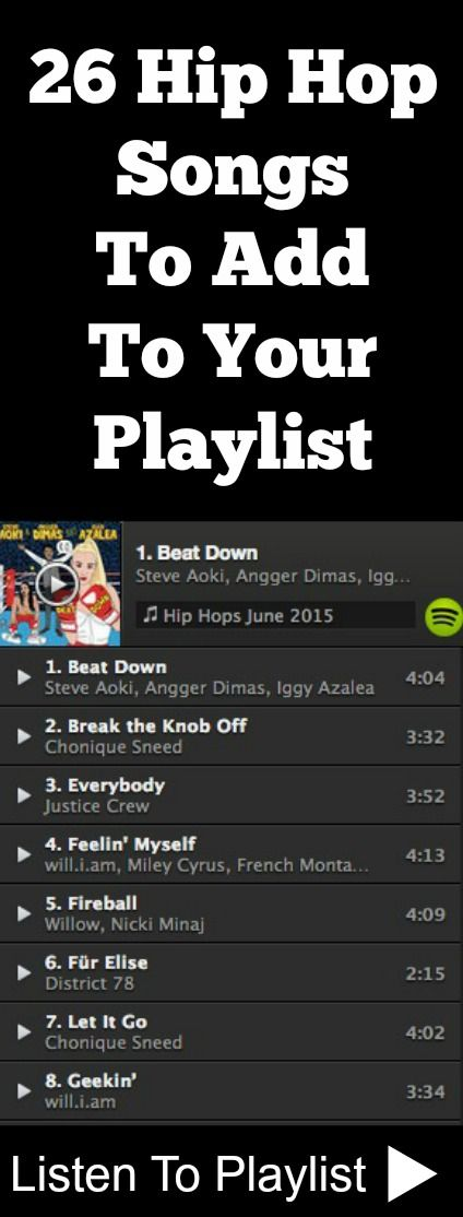 Hip+Hop+Songs+Playlist...