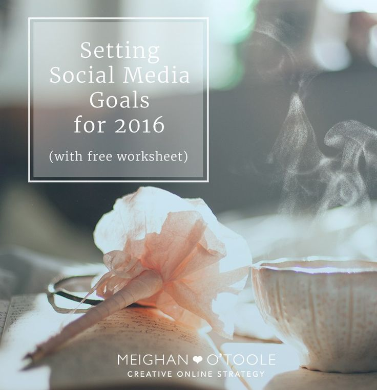 Setting goals on social media can help you determine the right content and more for your online strategy!