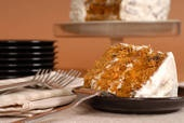 Hands down the best carrot cake receipe out there.  I tried 4 different ones and then stopped when I got to ghis one by Emeril Lagasse http://www.foodnetwork.com/recipes/emeril-lagasse/gigis-carrot-cake-recipe/index.html