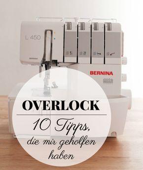 10 Tipps zur Overlock, die mir geholfen haben & Gewinnerin der Overlock