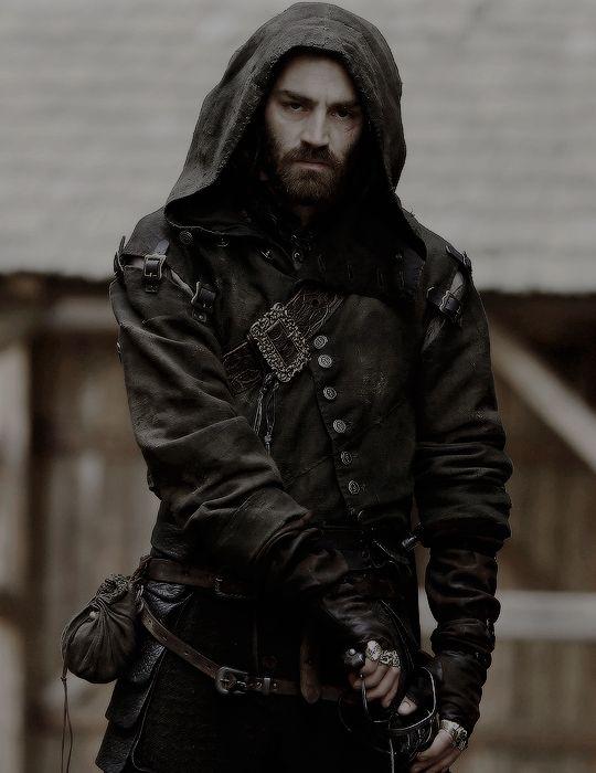 matthew mcnulty as lucien grimaud in The Musketeers