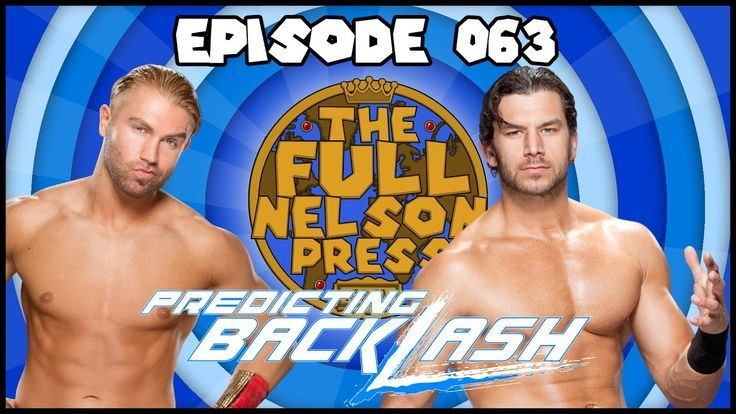 This week Brandon & Pete are predicting WWE Backlash & NXT TakeOver: Chicago 201