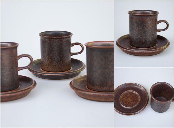 ARABIA RUSKA COFFEE C/Stw696
