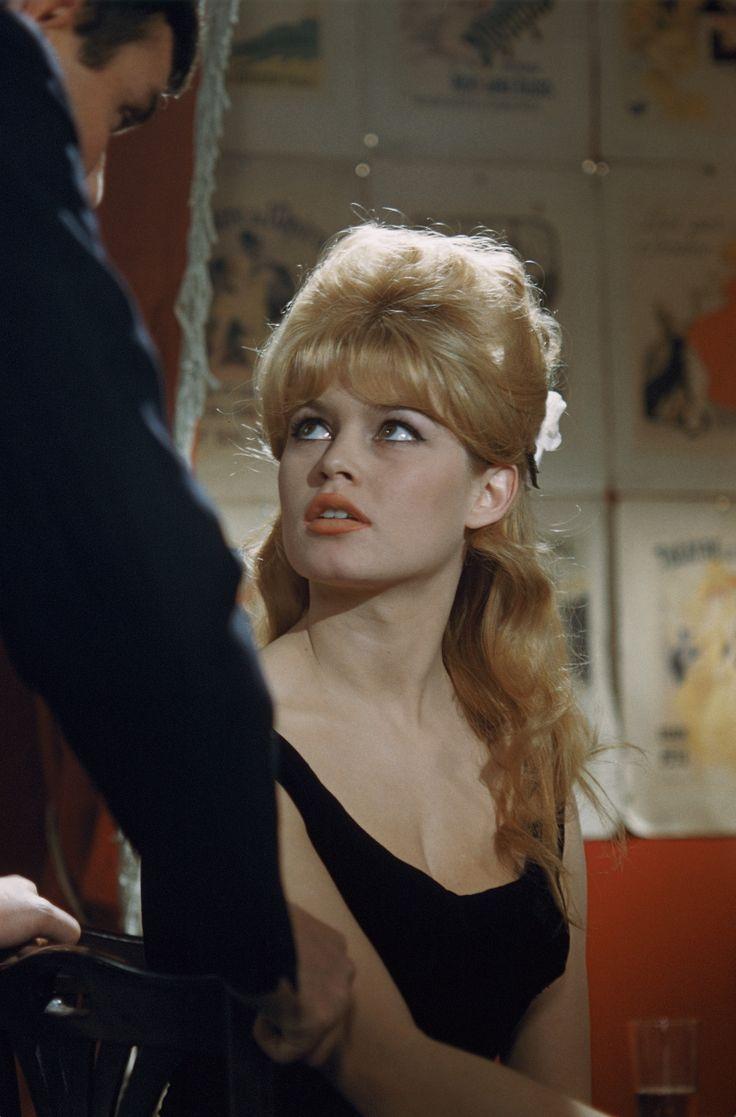 "missbrigittebardot: "" Brigitte Bardot during the filming of ""Please Not Now !"", 1961 """