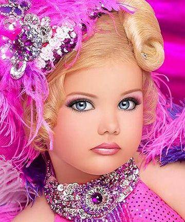 the ugliness of beauty pageant... I can't believe that people try to compare this is Irish Dance