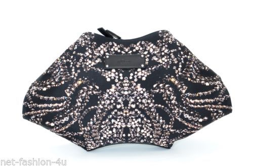 ALEXANDER-McQUEEN-KALEIDOSCOPE-DIAMOND-PRINT-SATIN-DE-MANTA-CLUTCH-BAG-BNWT