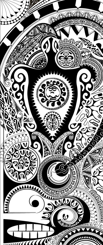 Maori Art on Behance