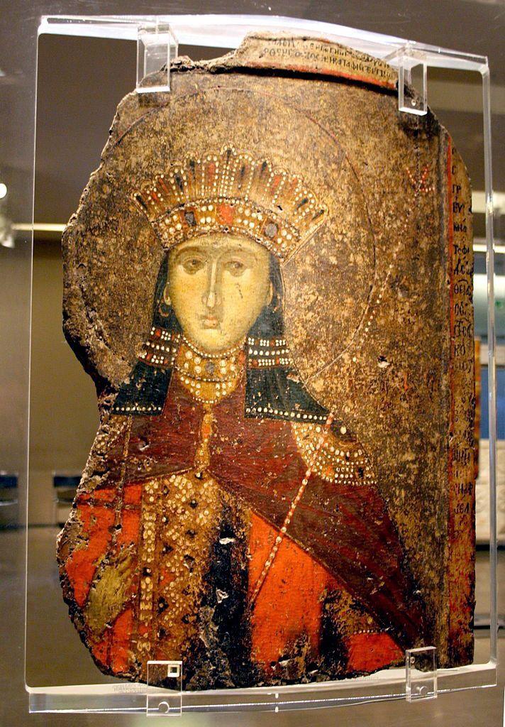 Madame de Pompadour (Saint Catherine of Alexandria, portrayed as a...)