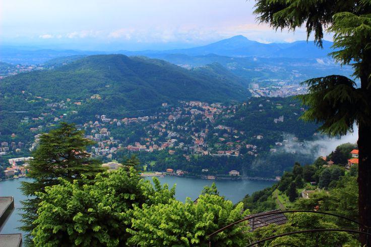Brunate in Lake Como
