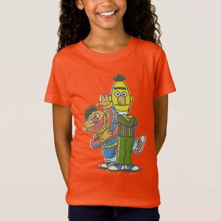 Bert and Ernie Classic Style T-Shirt - click/tap to personalize and buy