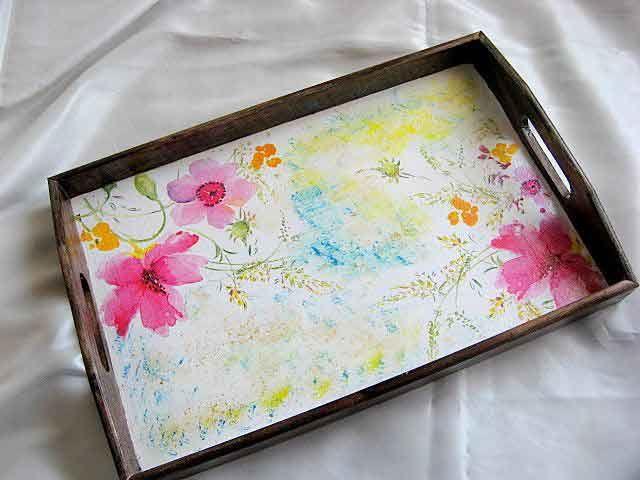 #Tava #servire #masa, tava din #lemn cu #modele #florale in #culori #calde http://handmade.luxdesign28.ro/produs/tava-servire-masa-tava-din-lemn-cu-modele-florale-21513/
