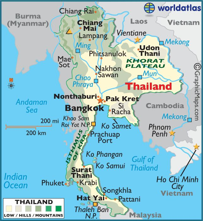 location thailand is located in southeast asia it is bordered by the andaman sea