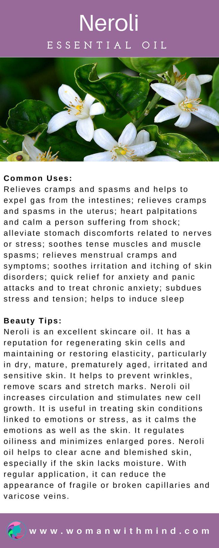 Neroli Essential Oil Guide & Application #essentialoils #diybeauty