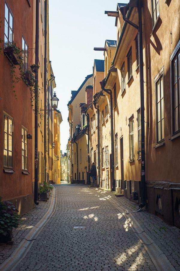 Stockholm Old Town, Gamla Stan_ Sweden
