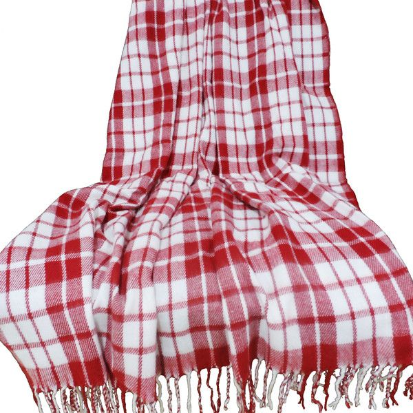 Plaid Acrylic Cashmere Throw Blanket (€14) ❤ liked on Polyvore featuring home, bed & bath, bedding, blankets, throws, blanket, acrylic throw blankets, plaid throw, tartan plaid throw and tartan plaid blanket
