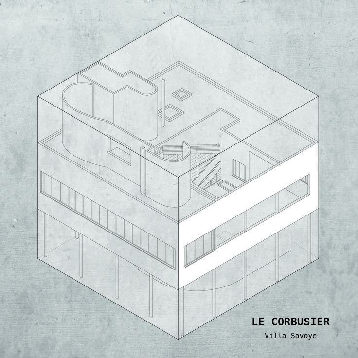 CASA: Architecture's Most Famous Houses Confined to a Cube