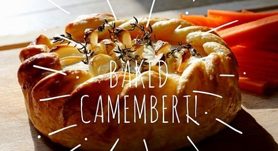 Simple to make, packed with flavour, absolutely delicious, hot, melted baked Camembert recipe.