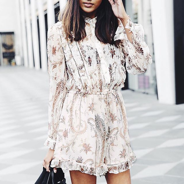 Pretty romper prints.