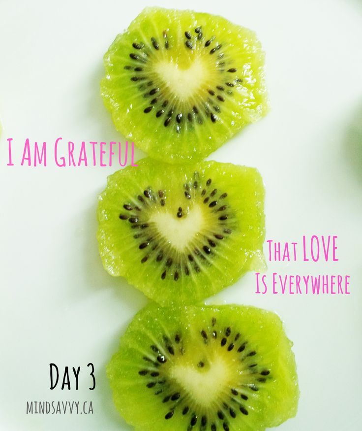 So grateful for the extra LOVE in my morning kiwi!  #gratitude #kiwi #organic #VitaminC #BeMindSavvy