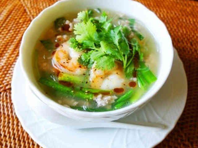 海老のエスニック風春雨スープの画像