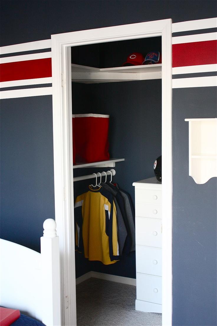 68 best kids 39 room decor images on pinterest for Cape cod closet ideas