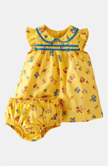 Mini Boden 'Pretty Tea' Dress & Bloomers (Infant) available at #Nordstrom