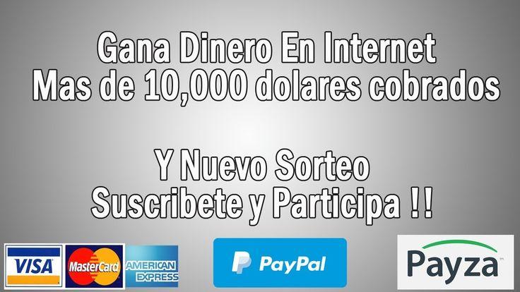 Como Ganar Dinero Por Internet 💰 💻 sin limite mas de 10,000 dolares 💵 co...