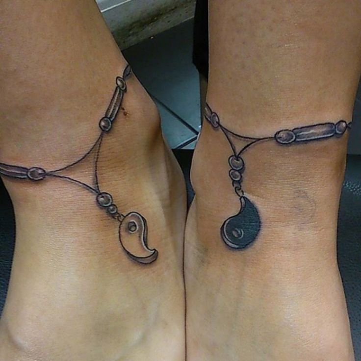 17 #Pieces of Ankle Bracelet Tattoo #Inspiration ...