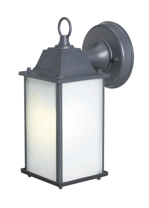 Woodbridge Lighting 60001WL BKP 1 Light Wall Sconce With Bulb Included From  The Energy Saving