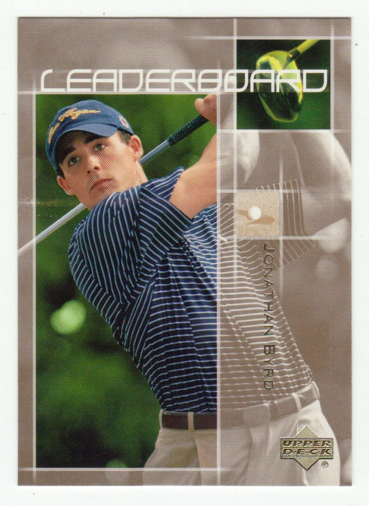Jonathan Byrd # 69 - 2003 Upper Deck Golf