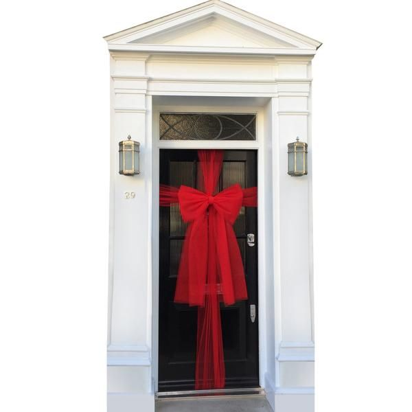 Original Door Bow (ideal for Christmas) - all colours available - Dress My Door