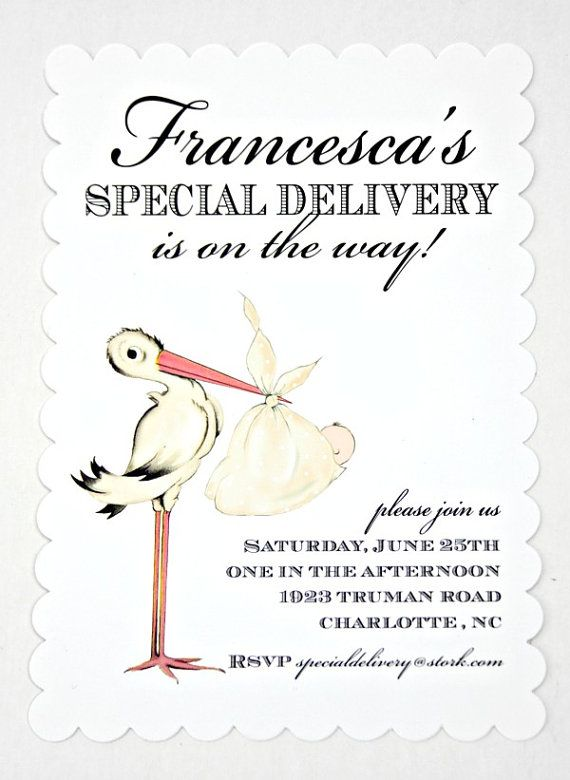 best 25+ stork baby showers ideas on pinterest | baby cupcake, Baby shower invitations