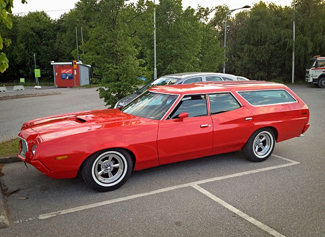 Ford Torino Station Wagon 1972 #TimBeta #BetaLab