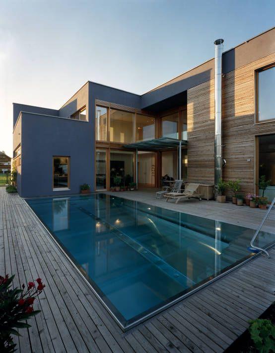 einfamilienhaus mit urlaubsflair pool pinterest moderne h user h uschen und einfamilienhaus. Black Bedroom Furniture Sets. Home Design Ideas