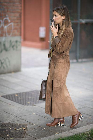 Miroslava Duma seen during Milan Fashion Week Spring/Summer 2017 on September 22 2016 in Milan Italy