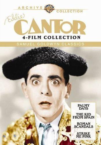 Eddie Cantor 4-Film Collection: Samuel Goldwyn Classics [4 Discs] [DVD]