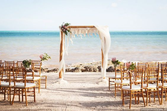 The Beach Is Such A Good Place To Get Married Beach Wedding
